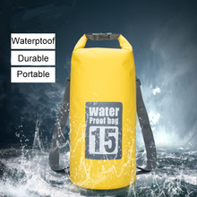Lightweight Waterproof Swimming Bag Floatable Backpack Beach River Trekking Swimming Outdoor Hiking Drifting Camping Sport Bag(China)