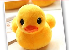 stuffed animal lovely little yellow duck plush toy 30 cm duck doll 12 inch toy s4670