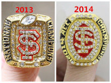 2013 2014 FSU Florida State Seminoles National Championship Rings Size 11 2pcs one set(China)