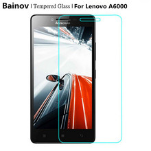 Buy Bainov Tempered Glass Lenovo A6000 6010 Screen Protector 0.26MM 9H 2.5D Safety Protective Film A6010 A6000-l A6000 Plus for $1.22 in AliExpress store