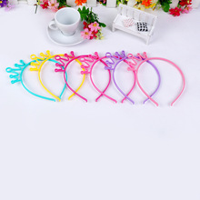 New kids Baby birthday party Prom Cute Crown head band Lady Girls headwear Headband Photo Hair Accessories for Women Hairband(China)