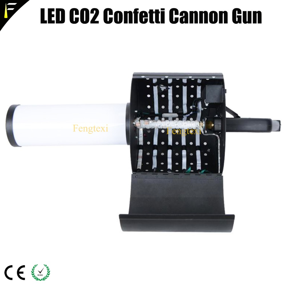 LED CO2 Confett Cannon5