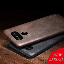 New back cover case For lg g5 g6 leather cases and covers Luxury brand x-level original desgin with retail package(China)