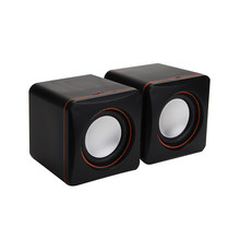 New Mini Audio Computer speakers Portable USB Audio Music Player Speaker Multimedia Computer Laptop Audio Sounder Speaker Dec28