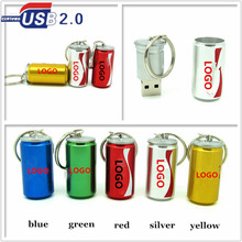 top quality mini metal beer bottle usb flash drive memory stick USB 2.0 pen drive 4GB 8GB 16GB 32GB pendrive real capacity