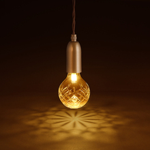 Loft Retro Golden lighting modern minimalist E27 LED crystal glass chandelier coffee shop clothing store decoration lamp Lights(China)