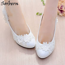 Sorbern White Girl Shoes Party Kitten Heels Pointed Shoes Rhinestone Wedding  Shoes Women Heels Real Photos 0a0f2df5c3c5