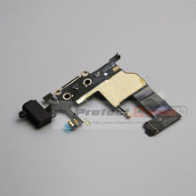 for iPhone 5 USB Charging Port Charger Dock Connector Flex Cable Earphone Audio Jack Flex Replacement Part