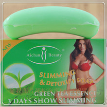 100G  thin body to lose weight    Green  tea  soap