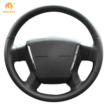 MEWANT Black Artificial Leather Car Steering Wheel Cover for Dodge Caliber 2008-2011 Dodge Avenger 2007(China)