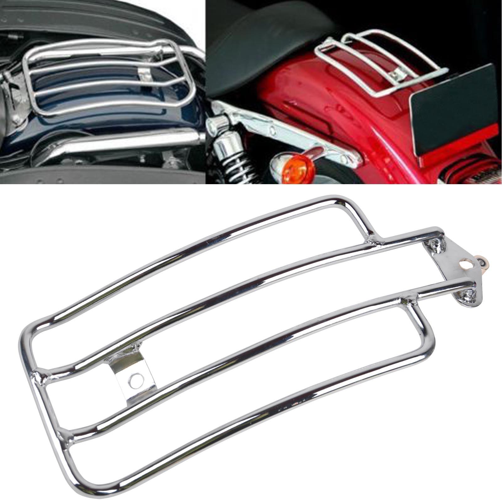 High Grade Metal Steel Solo Seat Rear Fender Luggage Rack Sportster Support Shelf for Harley Honda Yamaha Kawasaki Suzuki<br>