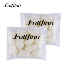 10pcs/bag female Fresh Natural silkworm cocoons Beauty Healthy skin care women face care whitening Cleaning products(China)