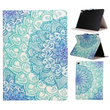 Fashion Pattern Folding PU Leather Case For Apple iPad Air / iPad 5(2013) Stand Protective Cover Skin Tablet Accessories Y5C19D(China)