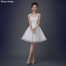 Vinca sunny Custom Made Plus Size Scoop Short Wedding Dress Brides Sexy Lace Bridal Wedding Gown Vestido De Noiva