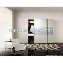 Hot Sale Beige Lacquer Intelligent Wardrobe With Sliding Doors YG21224(China)