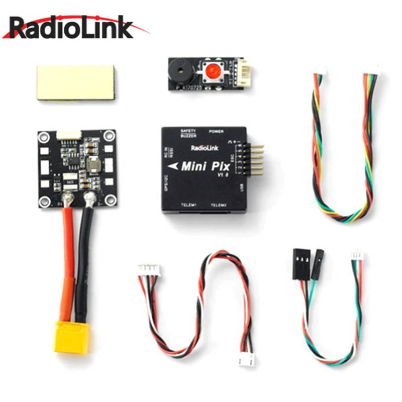 Radiolink Mini PIX V1.0 F4 Flight Controller STM32F405 MPU6500 w/ Barometer Compasses VS Omnibus F4 Pixhawk For RC Models<br>