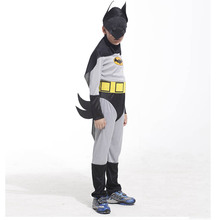 Childrens Boys Batmen Cosplay Costume Superhero Jumpsuits Outfit Halloween Children'Day Fancy Dress Costumes