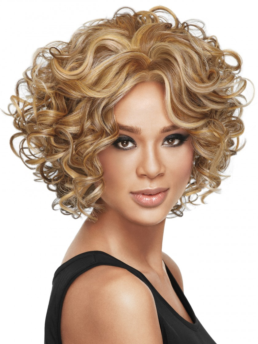New Arrive Synthetic Brown BOB Hair Natural Wigs Short Wigs for Black Women Free Shipping Women Short curly Bangs Wigs<br><br>Aliexpress