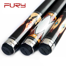 FURY DE Billiard Pool Cue Maple Shafts 11.75/13mm snooker cue 1/2 American Pool Cues Queue De Billard Tacos De Billar stick
