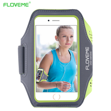 FLOVEME Sport Arm Band Phone Cases For iPhone 4 4s Case For iPhone 7 6 6S Plus 5s 5 se Waterproof Running 5.5 inch Phone Bags(China)