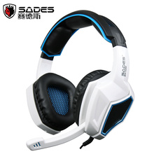 Sades SA920 Wired Stereo Gaming Over Ear Headphones with Microphone for Xbox One / Xbox 360 / PS4 / PC /Cell phones / iPad