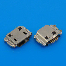 5pc Micro USB Charger Charging Connector Port For Samsung Galaxy Wonder W I8150 S8530 Wave II i9220 Galaxy Note N7000(China)