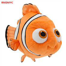 RMDMYC The Most Popular Anime Finding Nemo Plush Toys Super Lovely 20 30cm Nemo Dory Cartoon Fish Solf Plush Dolls Toys for Gift