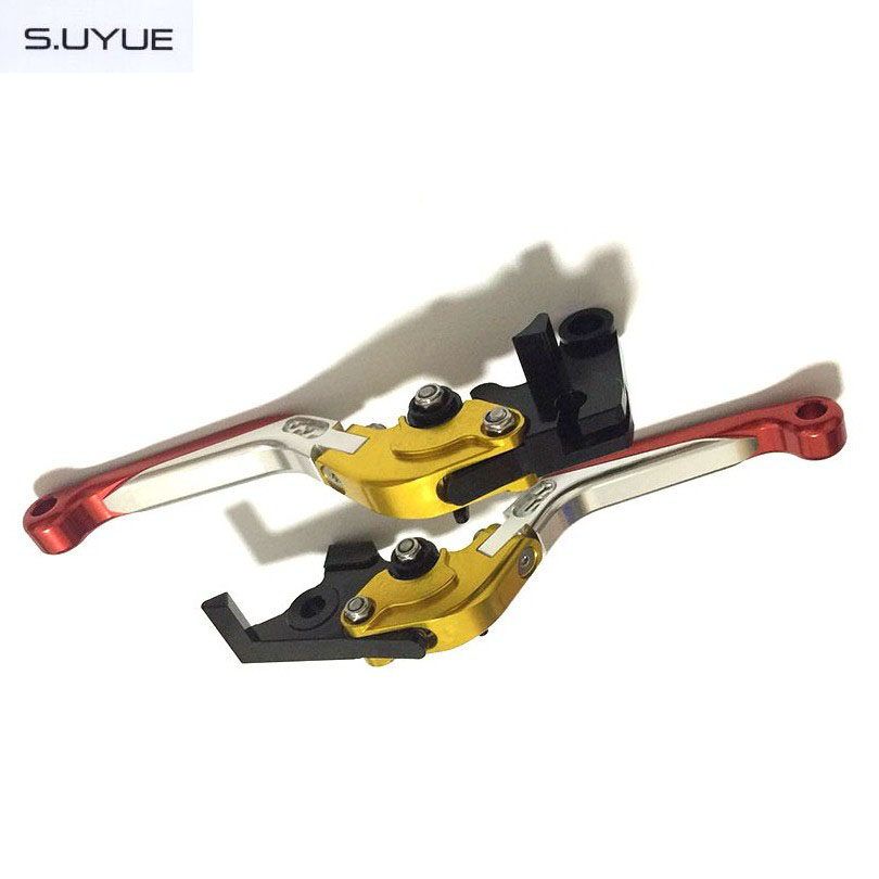 S.UYUE Motorcycle Foldable Extendable Levers CNC Adjustable Brake Clutch Levers For BMW K1200S R1200R R1200RT /SE R1200S<br>