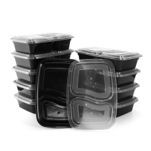 10Pcs/set Disposable Microwave Food Storage Safe Meal Prep Containers Kids Food Container Tableware Bento Dinner