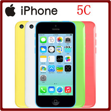 5C Original Unlocked Apple iPhone 5C IPS 4.0``Dual Core 1GB RAM 8/16/32GB ROM 8MP WCDMA GPS WIFI IOS Used Smartphone(China)