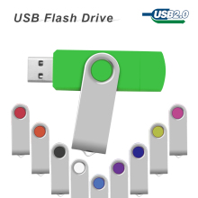 Smart Phone USB Flash Drive rotatable pen drive 4GB 8GB 16GB 32GB 64GB OTG pendrive external storage usb memory stick