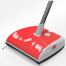 Household 1300mah Charging Mode Electric Sweeper for 1hour Sweeping Cordless Handheld Vacuum Broom  Extendable Broom Dustpan Set