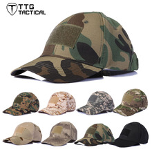 TTGTACTICAL Mens Army Baseball Military Cap Hiking Hat Summer Camping Camouflage Fishing Tactical Hat 10 Tactical Colors CP