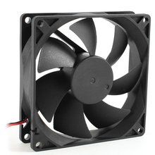 92mm x 25mm DC 12V 2Pin 65.01CFM Computer Case CPU Cooler Cooling Fan(China)