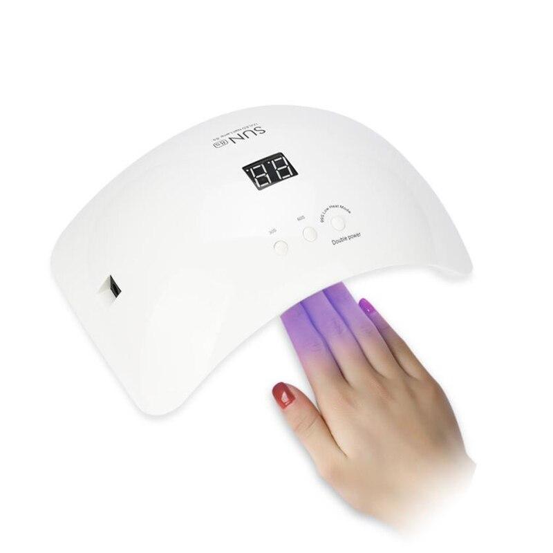 EU UK US 48W LED UV Nail Gel Curing Lamp Light Nail Gel Polish Dryer Nail Art Machine Use Life 50000hours uv led lamps unhas<br>