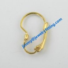 2014 new 2014 new fashion jewelry findings lever back earring clip Screw back earrings clip earring fittings