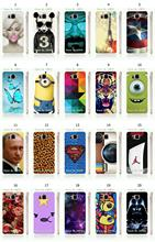 New Arrival hot sell cartoon superman jordan shoe designs white hard case cover for samsung galaxy alpha g850 Free Shipping