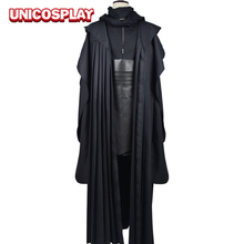 Star Wars Darth Maul Jedi Tunic Robe Cosplay Costume Linen Black Cloak Sets Halloween Uniform For Man Adults