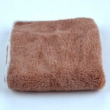 Wholesale Price Wood Fiber Dish Towel Grease Proof Cleaning Cloth Kitchen Helper Dish washing Cloth Random color(China)