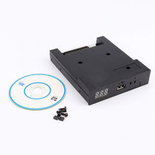 "Black SFR1M44-U100K 3.5"" 1000 Floppy Disk Drive to USB emulator Simulation For Musical Keyboad(China)"