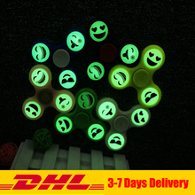 Buy 50PCS/lot Free DHL Fidget Tri-Spinner Smile Face Glow Dark Autism ADHD Hand Spinner Anti Stress Fidget Toy for $79.00 in AliExpress store