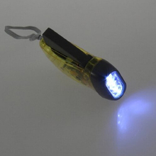 High Quality LED Dynamo Wind Up Flashlight Torch Light Hand Press Crank