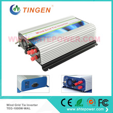 Grid connected wind turbine inverter 1000w charge control inverter 3 phase ac 45-90v input to ac output 90-130v 190-260v