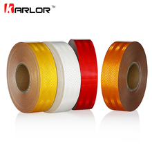 5cm*45m Reflective Tape Film Stickers Safety Warning Signs Conspicuity Tape Roll Decoration Decal For Auto Car Truck Car-Styling