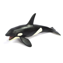 Sea animal Wild Animals Zoo Modeling Plastic Animal Toy Killer Whale