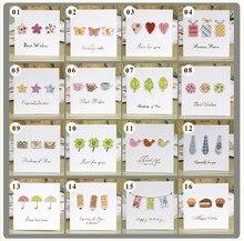 Multi Purpose Handmade Mini Greeting Cards W Envelopes For Kids Boys Girls