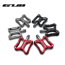 GUB Bicycle Pedals GC-001 Aluminum Alloy Thread Sealed Bearings Bicycle Mountain Bike Pedal MTB Road Cycling Riding BIKE Pedals(China)