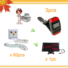 ward nursing equipment Type wireless nurse call system with USB Port Software(China)