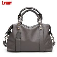 2017 New fashion women tote shoulder bags ladies pu leather bag high quality boston bag women crossbody bags H47