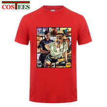 Buy New GTA 5 Men Women Summer Cotton Funny T Shirt 3XL GTA 5 tshirt Short Sleeve GTA 5 T-shirt Grand Theft Auto XBOX Game Tee Shirt for $12.66 in AliExpress store